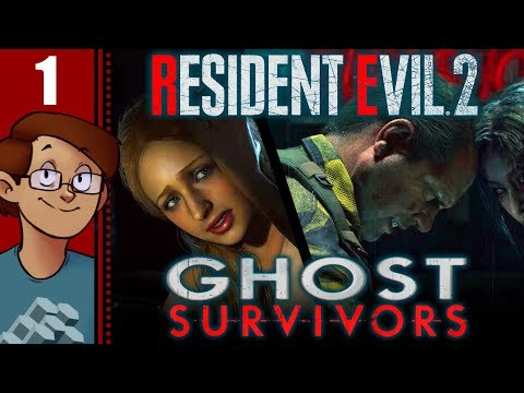 Let's Play Resident Evil 2 (2019): Ghost Survivors Attempts Part 1 - Runaway/No Time to Mourn