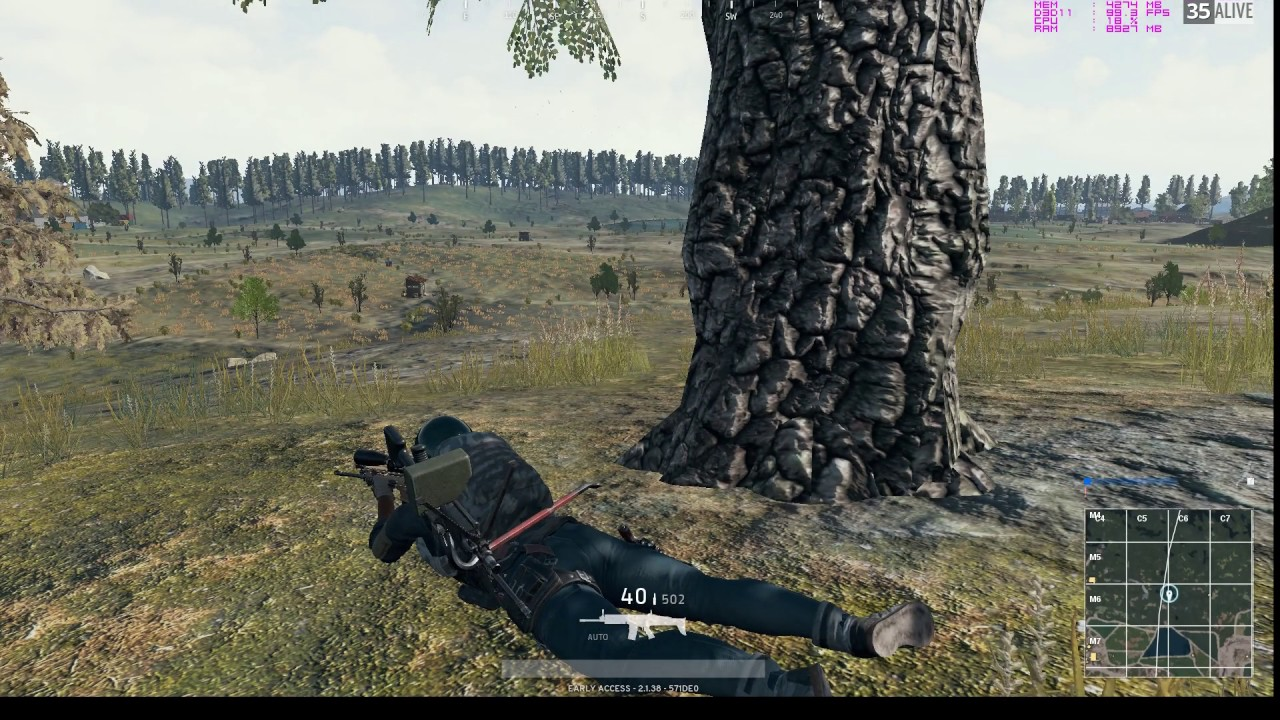 PUBG 15x Scope test