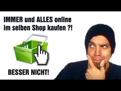 einkaufen im internet vorsicht youtube. Black Bedroom Furniture Sets. Home Design Ideas