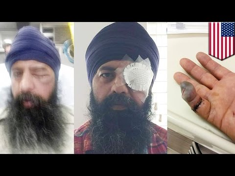 Sikh attack in US: Sikh man's hair gets cut during brutal assault in Richmond, California - TomoNews
