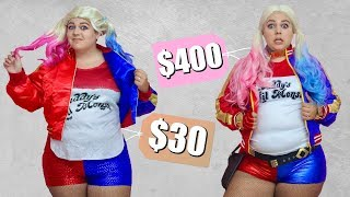 Trying Cheap vs Expensive Halloween Costumes!