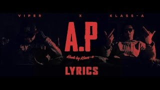 Viper feat. Klass-A - Allo Papa (Official Video Lyrics) [PAROLES]
