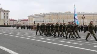 Репетиция парада победы Санкт-Петербург 25.04.2017
