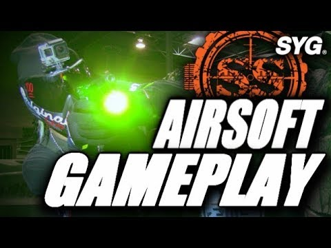 A Quick Game of CQB Airsoft with the SYG Team - SS Airsoft