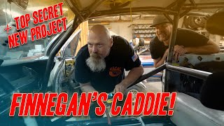 Checking Over @Finnegan's Garage Twin Turbo Cadillac (And New Project Sneak Peek!)