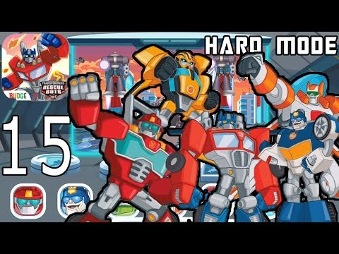 Transformers Rescue Bots: Disaster Dash Hero Run (Hard Mode) - IPhone Gameplay Walkthrough Part 15