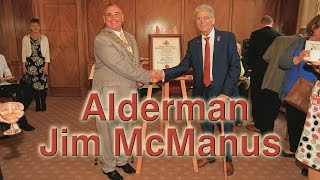 Alderman Jim McManus Town Hall Chesterfield Derbyshire