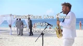 Wedding entertainment at Dreams Palm Beach,Punta Cana
