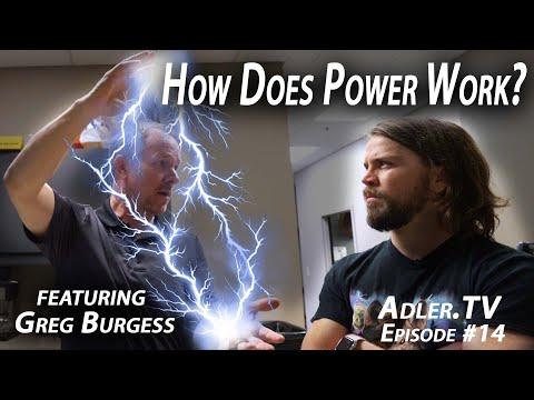Greg Burgess: How Does Power Work? - Adler.TV Episode #14