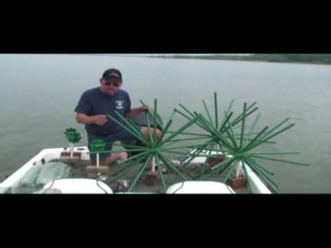 Porcupine Fish Attractor Crappie Beds