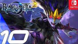 BAYONETTA 2 - Gameplay Walkthrough Part 10 - Witch Hunts & Truth (Remastered) Switch