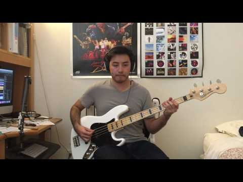Silversun Pickups - Panic Switch Bass Cover (Tab in Description)