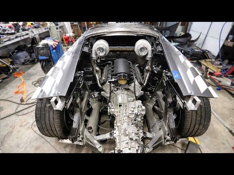 Wrenching Heroes Build World's Only Lamborghini Huracan With