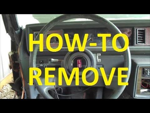 Steering Wheel Removal How To! Classic Gbody Garage