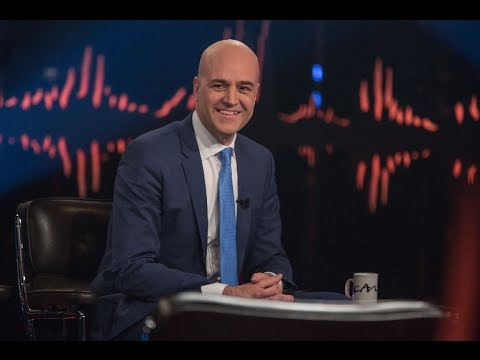 Fredrik Reinfeldt intervjuas av Skavlan och berättar om sitt nya jobb