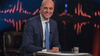 Fredrik Reinfeldt intervjuas av Skavlan och berättar om sitt nya jobb | SVT/NRK/Skavlan