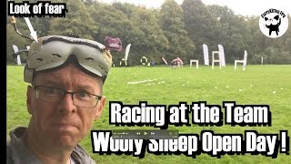 Drone racing at the Team Wooly Sheep open day