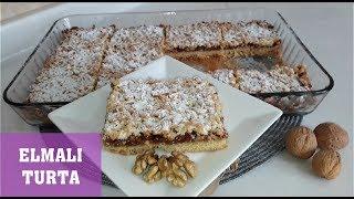 Elmalı Turta Kıyır kıyır lezzet Selma& 39 nın Mutfağı