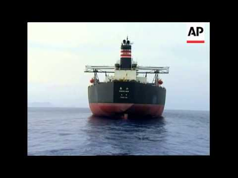 Oil spill after suspected pirate raid on Japanese tanker