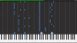Caramelldansen Piano Tutorial Slow Version