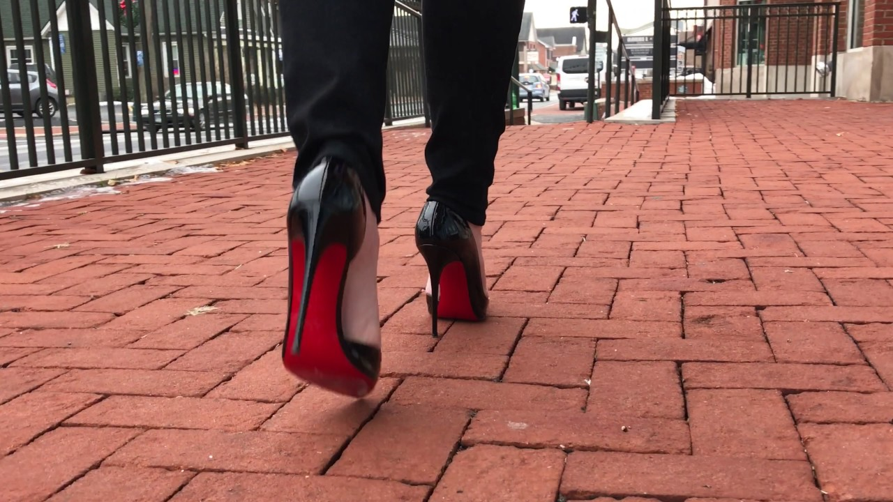 Christian Louboutin Iriza 120s in Motion