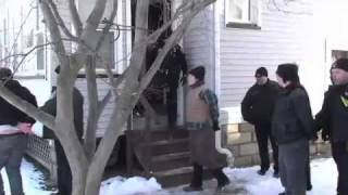 Take Back the Land- Rochester Eviction Defense Catherine Lennon Home March 28 2011
