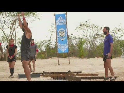 Survivor 2019 | Ένταση στον αγώνα μεταξύ του Τόνι και Hikmet | 13/03/2019