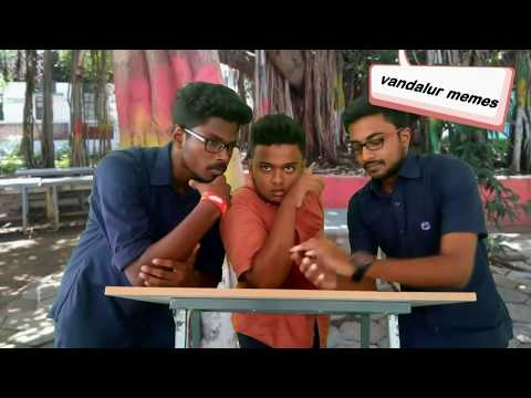 bs abdur rahman crescentians was like, short film, comedy video by bsau students by vandalur memes