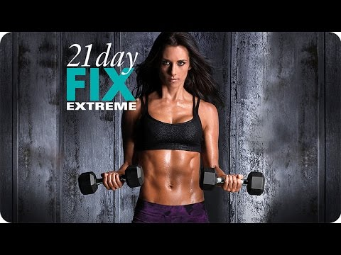 21 Day Fix EXTREME Workout – Rock A Serious Hardbody
