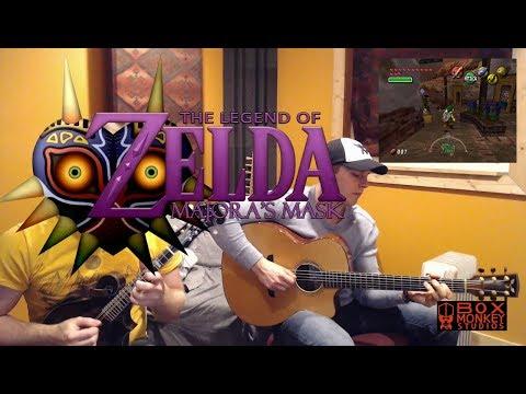 Clock Town - The Legend of Zelda Majora's Mask Cover -  Mandolin and Guitar