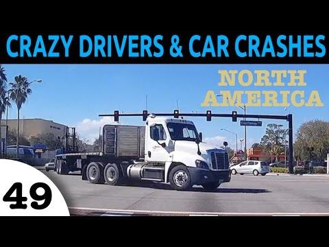 Crazy Drivers & Car Crash Compilation - North America Episode 49