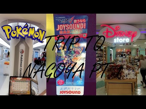 [Vlog] NAGOYA Pt 1 ~ JOYSOUND KARAOKE| POKÉMON CENTRE| DISNEY STORE!