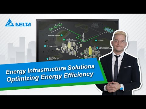 Delta Energy Infrastructure Solution At-A-Glance: It Optimizes Energy Efficiency