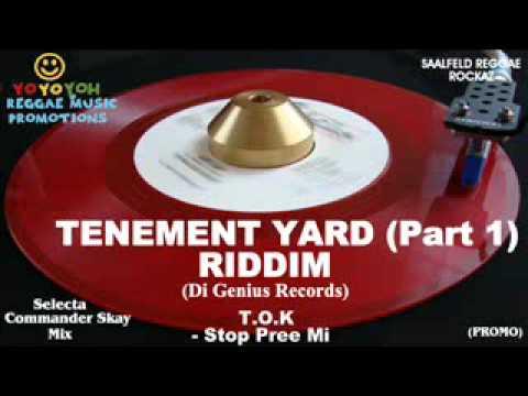 Download Tenement Yard Riddim Mix (Part 1) [December 2011] Di Genius Records