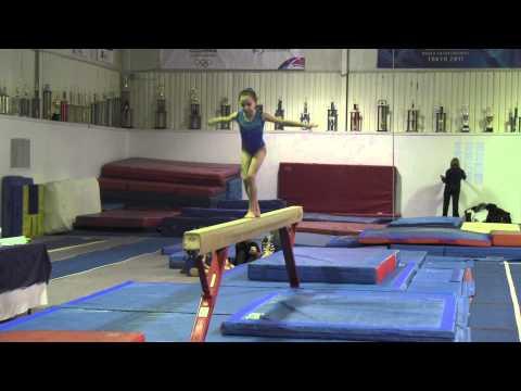 Gemini Gymnastics Provincial Qualifier Meet - Marley Beam (Jan. 24, 2015)