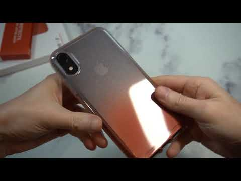Tech21 Pure Ombré Case for iPhone XR Only at Apple Unboxing and Review