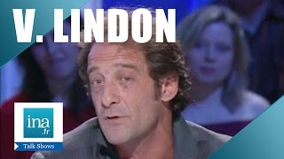 "Vincent Lindon ""Interview la confiance règne"" 