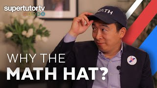 Presidential Candidate Andrew Yang (INTERVIEW) Should 16-Year-Olds Vote? Why the Math Hat?