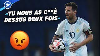 L'Argentine et Lionel Messi crient au scandale | Revue de presse