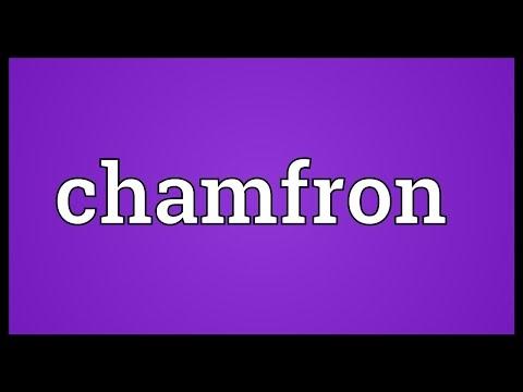 Header of chamfron