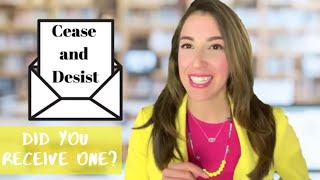 What is a Cease and Desist Letter? Trademark Lawyer Marcella Dominguez