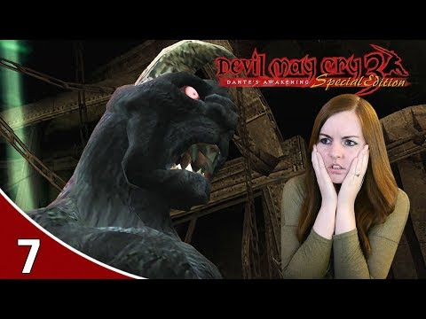 Savage Beowulf Boss - Devil May Cry 3 HD Dante's Awakening Gameplay Part 7