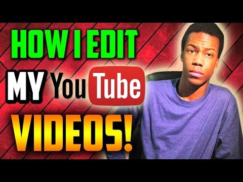 How I Edit My YouTube Videos! (Sony Vegas Pro 13 Tutorial)
