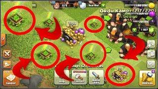 CLASH OF CLANS HESABINA İKİ YIL GİRMESEK NE OLUR? OHA YOK DAHA NELER İNANMIYORUM :) /clash of clans