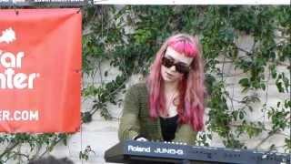 Grimes - Vanessa LIVE HD (2012) Make Music Pasadena Festival
