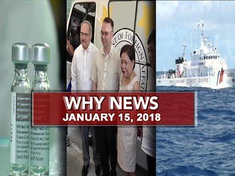 UNTV: Why News (January 15, 2018)