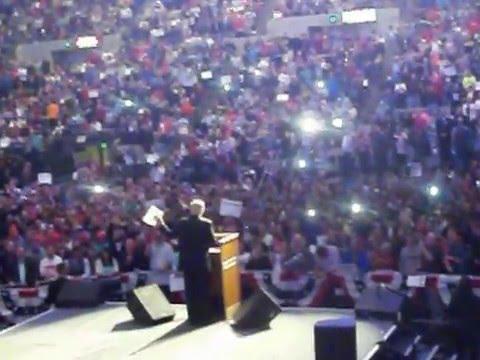 Donald J. Trump rally. Allen County War Memorial Coliseum Fort Wayne IN 5/1/2016