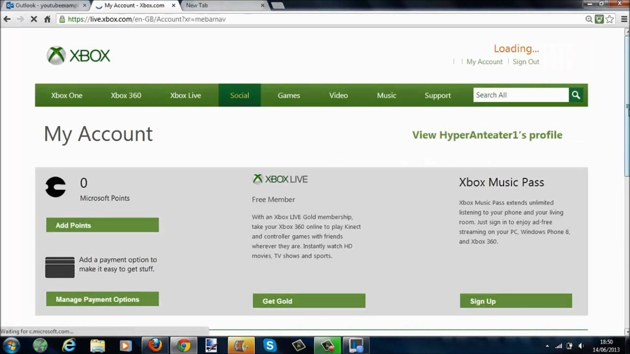 How To Change Your Xbox Live Account Information #1 - YouTube