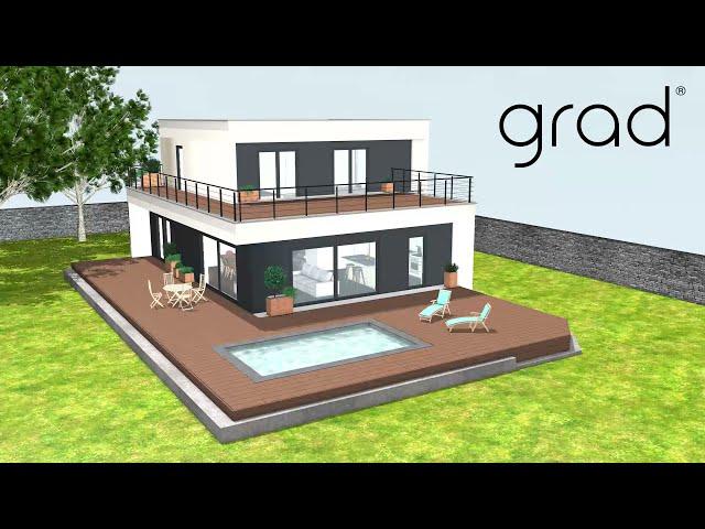 GRAD® - Concept de terrasse à clisper - Comment réaliser une terrasse sur plot pour un rendu parfait