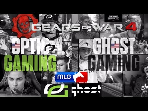 OPTIC vs GHOST GAMING GRAND FINALS - Gears of War 4 MLG MEXICO CITY 2018